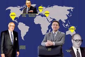 Nacionalidades de los Secretarios de la OMT