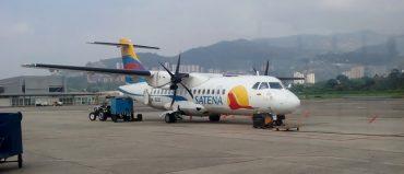En 2017, Satena creció 12% y transportó más de un millón de pasajeros