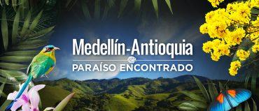 """""""Paraíso encontrado"""" será el lema de Medellín-Antioquia"""