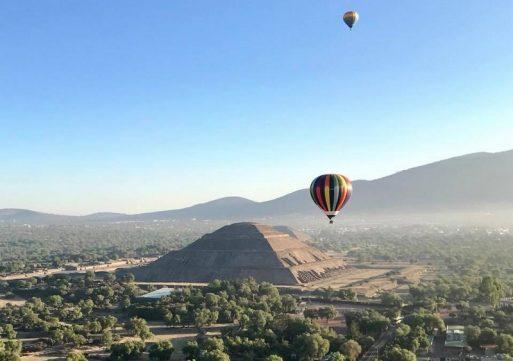 Un imperdible: Teotihuacán visto desde el aire