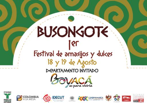 Este fin de semana hay Festival de Amasijos y Dulces en Cajicá