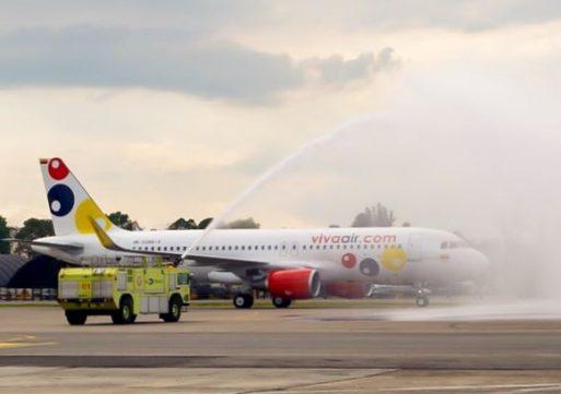 Llegó el primero de los 50 aviones de Viva Air
