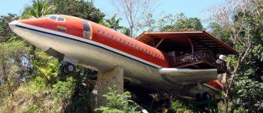 En Costa Rica también hay un avión que funciona como hotel