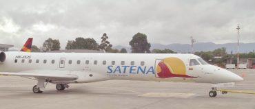 Satena espera comprar 4 nuevos aviones