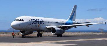 Tame vuelve a ofrecer vuelos entre Ecuador y Bogotá