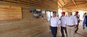 Caño Cristales ya tiene centro para visitantes y 14 puentes