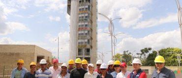 En el punto medio de Colombia construyen mirador de 47 mt.