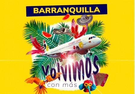 Viva Air vuelve a operar vuelos a Barranquilla