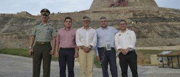 Secretario de la OMT se comprometió con Cartagena