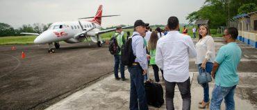Comenzó a operar ruta aérea entre Medellín y Puerto Berrío