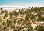 Otro imperdible en el norte de Brasil: Imbassai