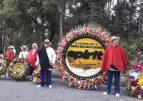 Spirit celebró con silleteros su décimo aniversario en Medellín
