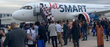 JetSmart anuncia operaciones entre Colombia y Chile